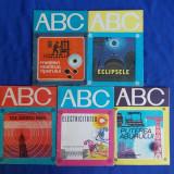 LOT 5 CARTI COLECTIA ABC - BUCURESTI - 1972-1985