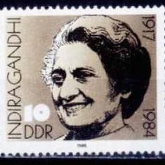 Germania DDR 1986 - cat.nr.2676 neuzat, perfecta stare - Timbre straine, Nestampilat