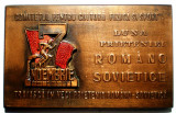 5.609 ROMANIA PLACHETA LUNA PRIETENIEI ROMANO SOVIETICE 7 NOEMBRIE