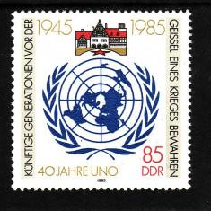 Germania DDR 1985 - cat.nr.2605 neuzat, perfecta stare - Timbre straine, Nestampilat