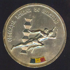 MEDALIE*PLACHETA*ATLETISM*FEDERATIA ROMANA DE ATLETISM*CAMPIONATELE INTERNATIONALE ALE ROMANIEI 1982