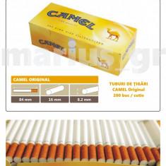 1.000 tuburi de tigari CAMEL Original pentru injectat tutun - Foite tigari