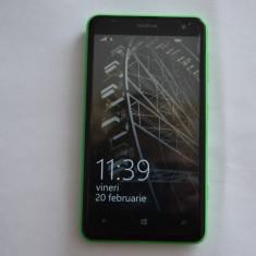 NOKIA LUMIA 625 4G GREEN, IMPECABIL, NEVERLCOKED, CU CARD 8GB, FOLIE SI 2 HUSE - Telefon mobil Nokia Lumia 625, Verde, Neblocat, 2G & 3G & 4G