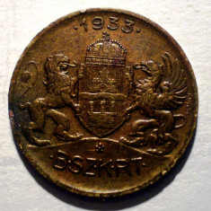 1.520 UNGARIA JETON 1933 - Jetoane numismatica