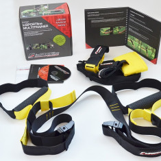 Multi Trainer (TRX) Insportline - cu manual si DVD pt programe de antrenament - Extensor Fitness