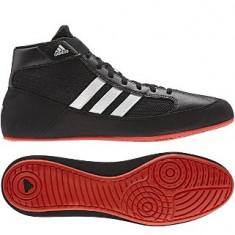 Ghete lupte Adidas Havoc - Ghete barbati Adidas, Marime: 40 2/3, Culoare: Negru