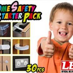 Set siguranta copii pentru casa sigurante usi, prize, ferestre, colturi, etc - Set mobila copii