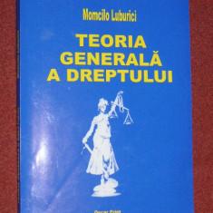 Teoria generala a dreptului - Momcilo Luburici ((2005) - Carte Teoria dreptului