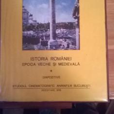 Istoria Romaniei Epoca Veche si Medievala + Aspecte din cultura romaneasca - DIAPOZITIVE