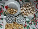 Forma de nuci presa de prajituri nuci cu 16  ''gaoci''
