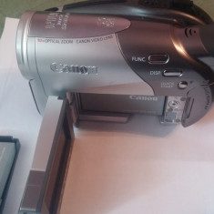 Camera video canon dc50, 2-3 inch, DVD, CCD, 10-20x