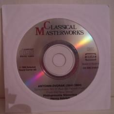Vand cd Classical Masterworks-Antonin Dvorak, original, raritate!fara coperti - Muzica Clasica Altele