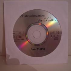 Vand cd Weihnachtszaber der Panflote-Ave Maria, raritate!fara coperti - Muzica Chillout Altele