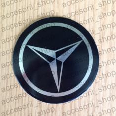 Emblema capac roata MERCEDES NEGRU 90 mm - Embleme auto
