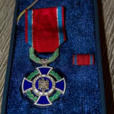 VIRTUTEA MILITARA - CAVALER - CU BREVET - Medalii Romania