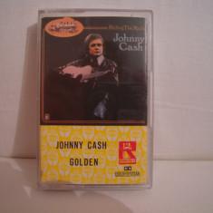 Vand caseta audio Johnny Cash-Golden, originala, raritate! - Muzica Country Altele, Casete audio