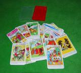 Joc de carti pentru copii, cu imagini foarte frumoase, joc complet, 32 cartonase + cutia de plastic originala + cartonas instructiuni, Kinderwelt
