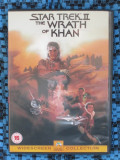 STAR TREK II. THE WRATH OF KHAN - film DVD (original din Anglia, in stare impecabila!!!), Engleza