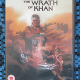 STAR TREK II. THE WRATH OF KHAN - film DVD (original din Anglia, in stare impecabila!!!)