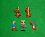 Lot 5 figurine Winnie de Pooh, 4 buc Tigger (tigru) si 1 buc. Piglet (purcel)