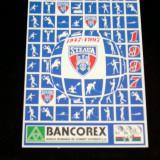 CCO - CALENDAR DE COLECTIE - TEMATICA STEAUA BUCURESTI - ANUL 1997 - Calendar colectie