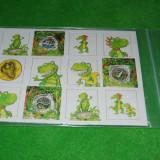 Joc de memorie, Memo, cu Dino / dinozauri, pentru copii, pentru testat si exersat memoria vizuala, 24 cartonase; NOU! - Jocuri Logica si inteligenta