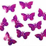 Confeti fluturi, Fucsia - Decoratiuni nunta
