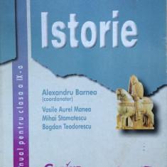 ISTORIE MANUAL PENTRU CLASA A IX-A - Alexandru Barnea (editura Corint) - Manual scolar corint, Clasa 9