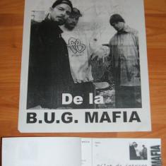 B.U.G. Mafia afis A4 + pachet de 100 bilete la spectacolul din Roman 2000