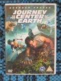 JOURNEY TO THE CENTER OF EARTH - film 2 DVD-uri - cu BRENDAN FRASER (original din Anglia, in stare impecabila!!!)