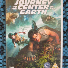 JOURNEY TO THE CENTER OF EARTH - film 2 DVD-uri - cu BRENDAN FRASER (original din Anglia, in stare impecabila!!!), Engleza