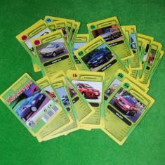 Joc de carti cu masini / autoturisme Kleinwagen, 31 cartonase + 1 cartonas prezentare; lipseste un carton (7d) pentru a fi complet!, cu date tehnice - Colectii