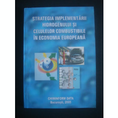 STRATEGIA IMPLEMENTARII HIDROGENULUI IN CELULELE COMBUSTIBILE IN ECONOMIA EUROPEANA