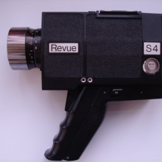 Camera video REVUE - S4 - super 8 TTL