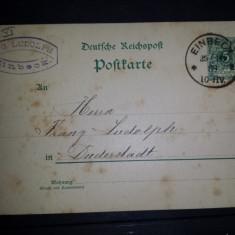 CP 1889 Germania Einbeck Duderstadt, Circulata