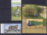 MOLDOVA 2013, Fauna, serie neuzata, MNH, Nestampilat