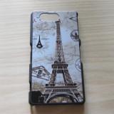 Husa Sony Xperia Z3 Compact mini ! Tour Eiffel ! Plastic Hard Case !