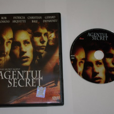 Agentul secret / The secret agent - DVD - Bob Hoskins - Gerard Depardieu - Patricia Arquette - Christian Bale - Film drama, Romana