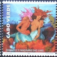 INSULA CAPULUI VERDE 1997 - OCEANUL IN IMAGINI 3 VALORI, NEOBLIT - E0750