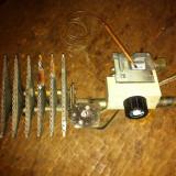 Arzator cu valva de gaz termostatata