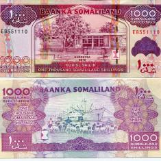 SOMALILAND- 1000 SHILLINGS 2012(2014)- UNC!! - bancnota africa