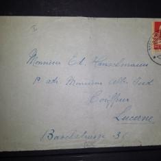 Plic 1933 Elvetia Luzern Villeneuve