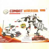 Robot de construit tip LEGO, Transformers, 169 piese, compatibil 100%, NOU - Jocuri Seturi constructie