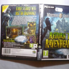 Joc PC - Mystery Case Files - Return to Ravenhearst (GameLand) - Jocuri PC, Role playing, Toate varstele