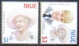 NIUE - REGALITATE 2 VALORI ,NEOBLITERATE - E0768