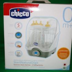 Sterilizator biberoane Chicco (cod 7958) - Sterilizator Biberon Chicco, Cu aburi