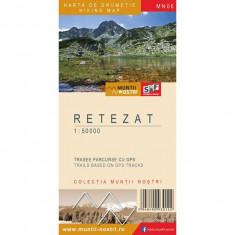 Schubert & Franzke Harta Muntii Nostri Harta Muntilor - Retezat MN06, F. Schubert