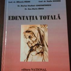 EDENTATIE TOTALA -- Emilian Hutu, Mihaela Pauna, Vasile Bodnar -- 2000, 254 p.