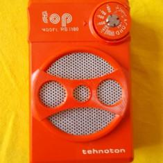 RADIO TOP MODEL RB 1100, FABRICAT DE TEHNOTON, FUNCTIONEAZA ! - Aparat radio