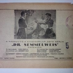 "Pliant - Program- Filmul ""Dr. Semmelweis"""
